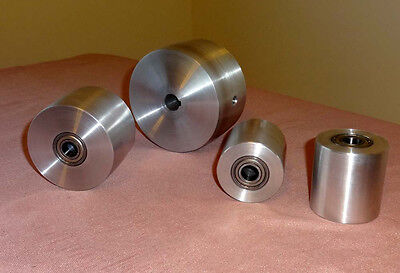 "Knife Making:Belt Sander Wheel Set 5/8"" Drive Wheel Bore.Premium ABEC-7 Bearings"