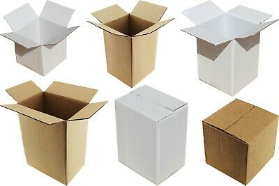 15 Sizes White Or Brown In/Out Shipping Boxes Gift Packaging Mug Cup Plate Bowl