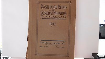 Sash Door Blind And General Millwork Catalog 1917- Heidelbach Lumber Co.