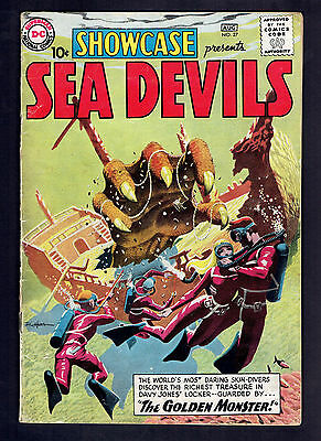 1960 DC Showcase #27 Sea Devils  VG+