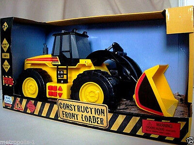 """Motorized 15.5"""" Construction Front Loader,push Button Operation,lights,sounds,3+"""