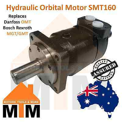 Orbital Hydraulic Motor SMT160 Replaces Danfoss OMT 160, Bosch Rexroth MGT/GMT