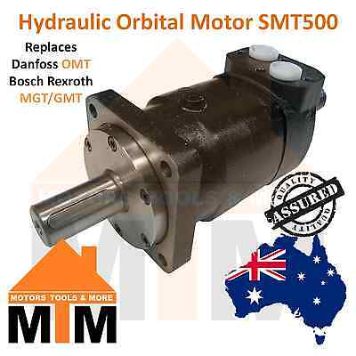 Orbital Hydraulic Motor SMT500 Replaces Danfoss OMT 500, Bosch Rexroth MGT/GMT