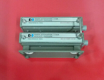 HP Agilent 8494H and 8496H 11 110DB DC-18GHZ Programmabe Step Attenuators