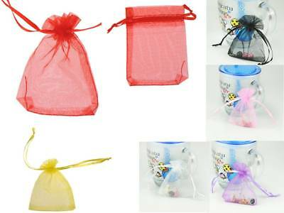 6 Color Wholesale Bulk Lots Organza Voile Jewelry Gift Favor Candy Bag Pouch