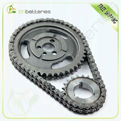 Roller Timing Set For Chevy 350 400 327 305 283 383 262 265 sbc sb Chain & Gear