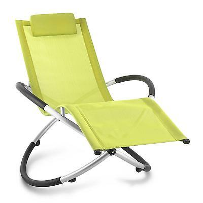 Home & Garden Lounger Chair Moon Rocker Indoor / Outdoor Patio Folding Recliner