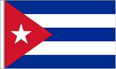 Cuba Sleeved Flag suitable for Boats 45cm x 30cm