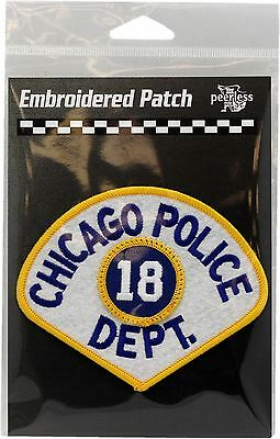 Vintage Chicago Police Department 18th District Patch 11707