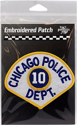 Vintage Chicago Police Department 10th District Patch 11709