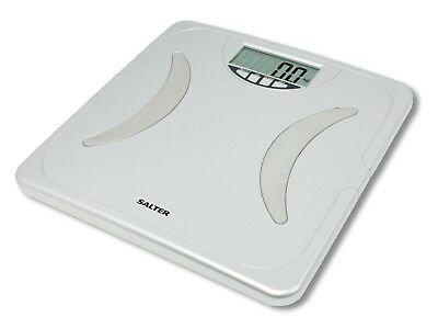 Salter 9114 Bodywise Digital Lcd Bathroom Scale Body Fat Hydration Bmi Analyser