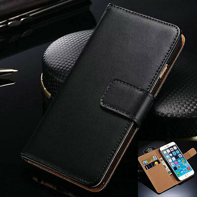 For Apple iPhone 4S 5S 5C 6 6S Plus Fashion Flip Card Wallet Phone Case Cover
