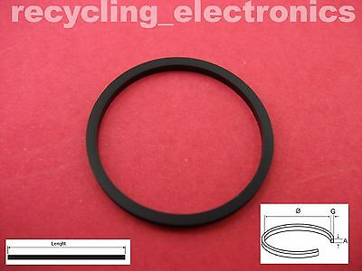 Ø 58 mm x 2.0 mm Length:182.2 mm Rubber Drive Belt for Reel To Reel and VCR