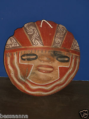 Old Pottery South American Mask • CAD $37.74