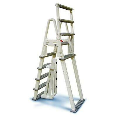 A- Frame Above Ground Pool Adjustable Ladder Confer Plastics 7000