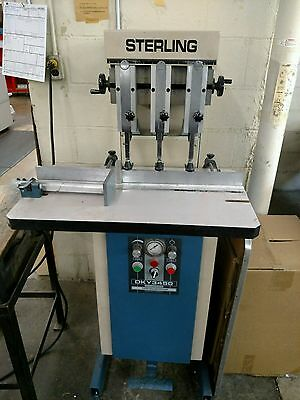 Sterling DKY3450 Three Hole Paper Drill