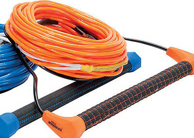 Proline LGS2 Square Package w/SK Air 80'  Wakeboard Rope LG2 Handle Combo Orange