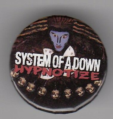 System of a Down Hypnotize RARE promo buttons (2)