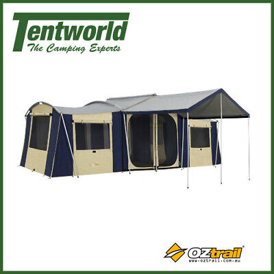 OZtrail Chateau 10 Canvas Cabin 10 Man / Person Camping Tent