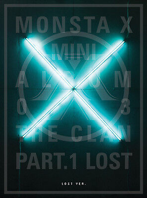MONSTA X - The CLAN 2.5 Part.1 LOST [LOST ver.] CD + Poster + Extra Photocards