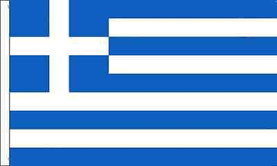Greece Sleeved Flag suitable for Boats 45cm x 30cm