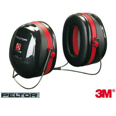 3M Protection Bruit Peltor Optime 3 Casque Tour de Cou Capsule Auditive