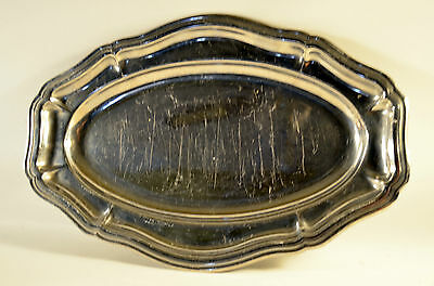 Metal Stainless Steel, Oval Dish, Serving Dish