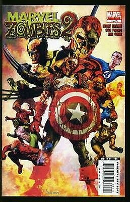 MARVEL ZOMBIES 2 #1-5 VERY FINE/ NEAR MINT COMPLETE SET 2007 1st PRINTS