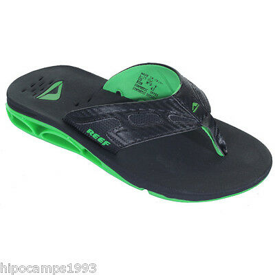 Chanclas Reef X-S-1 Black Green abrebotellas sandals flip flops infradito tongs