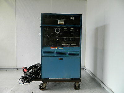Miller Syncrowave 300 Welder With Ps-1 Programmer And Foot Pedal