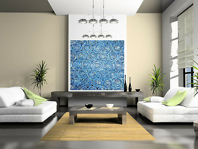 ABORIGINAL ART PAINTING BLUE DREAMING Australia contemporary jane crawford