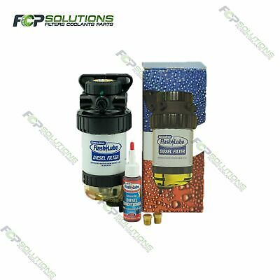 FLASHLUBE Diesel Pre-Filter 30 Micron Fuel Water Separator filter assembly