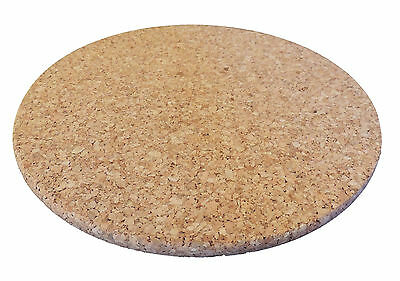 Viking Cork Hot Pads 14, 18 & 22cm Round Trivets - Made in Portugal