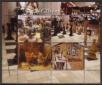 Chess MNH M/S of 4 stamps CHES17
