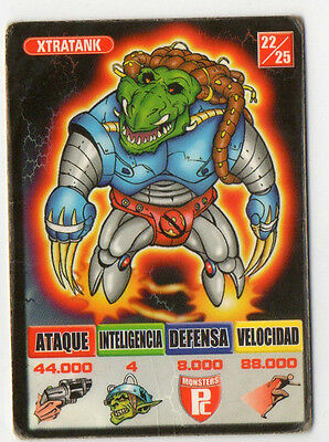 Xtratank Monsters 22/25 Kaos The Game Bollycao Ref:00778
