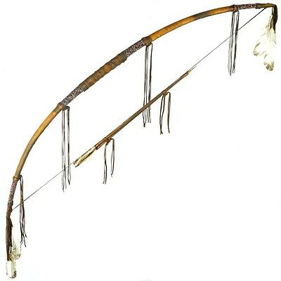 Indian Bow And Arrows 20lb Draw Weight Real McCoy