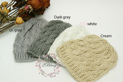 KNITTED WOOL BEANIE (One size) Girl, Kids, Ladies winter fashion, warmer, hat