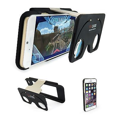 VR Virtual Reality V.R Glasses iPhone 6 6S Case Cover NEW 2016 Fully Portable