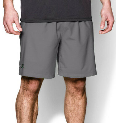 "Under Armour Heatgear Mirage 8"" Mens Running Shorts - Grey"