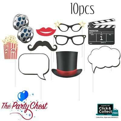 HOLLYWOOD MOVIE PHOTO PROPS Movie Party Night Photo Booth Party Accessories 5203