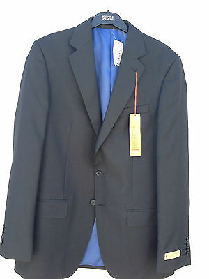 "JACKET BLAZER MENS SUIT ITALIAN COLLEZIONE M&S Marks & Spencer NAVY 38"" 40"" BNWT"