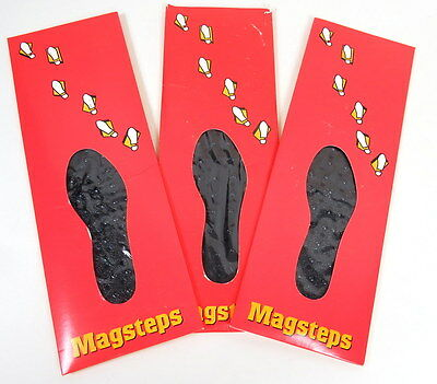 New In Box Nikken Magsteps Men / Women Magnetic Bumps Foot Insole Sole Inserts