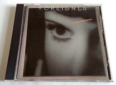 FOREIGNER Inside Information JAPAN EARLY PRESS CD 1987 32XD-916