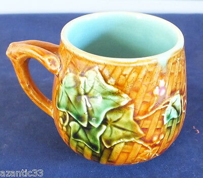 ancienne tasse barbotine tea cup