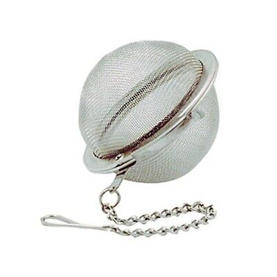 "RSVP 2"" Tea Infuser Mesh Ball Stainless Steel For Making Individual Cups Of Tea"