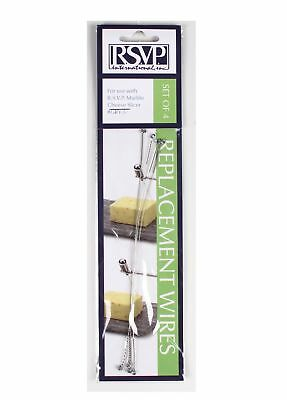 RSVP Replacement Marble Cheese Slicer Cutter Wires For #Gry-5 (Set Of 4) New