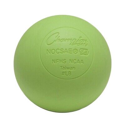 Champion Lacrosse Ball (x1) Official NFHS NCAA Mobility Massage Therapy-GREEN