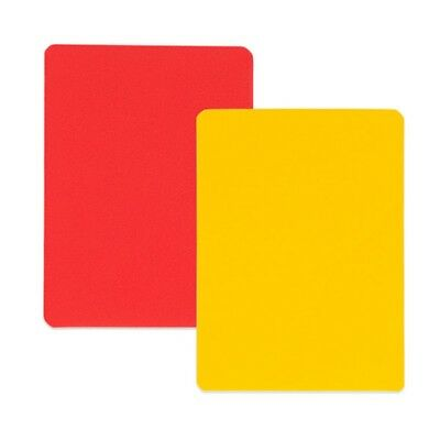 Champion Sports Soccer Referee Red And Yellow Coloured Replacement Cards RWCD
