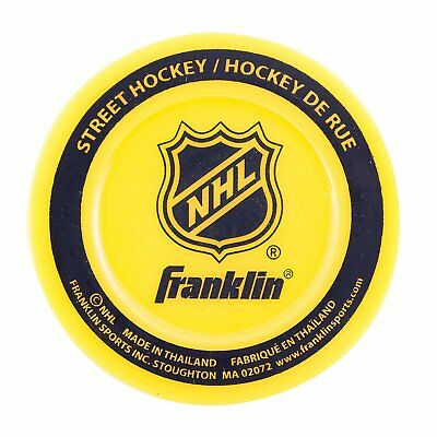 Franklin Sports NHL Street Hockey Extreme Color Low Density Puck Colors May Vary