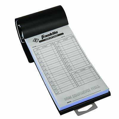 Franklin Sports MLB Baseball And Softball Roster Batting Lineup Cards 20 Games